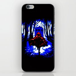 Shadow Light Of Tardis iPhone Skin