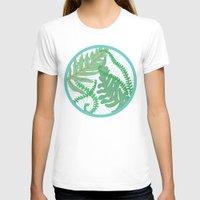 fern T-shirts featuring Fern by Allison Holdridge