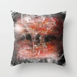 Helm Astronaut Throw Pillow