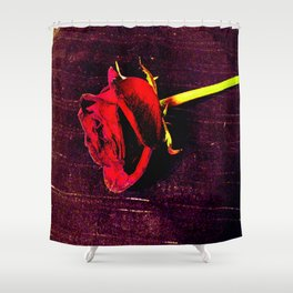 Rose #3 Shower Curtain