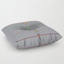 Aaaaaarms! Floor Pillow