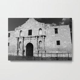 Remember the Alamo Metal Print