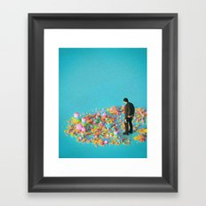 NEVER ENOUGH (everyday 03.16.17) Framed Art Print