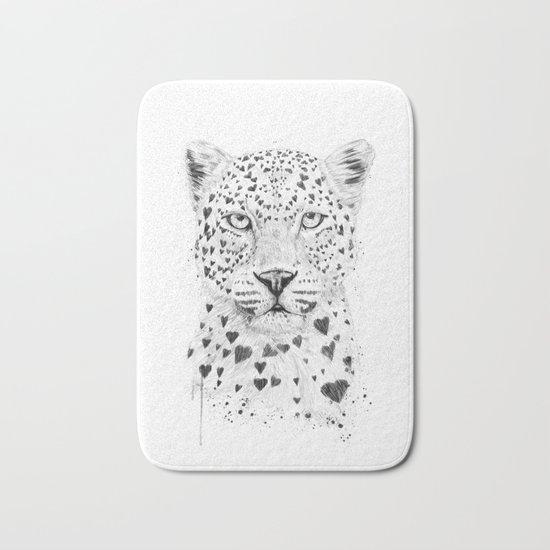 Lovely leopard Bath Mat