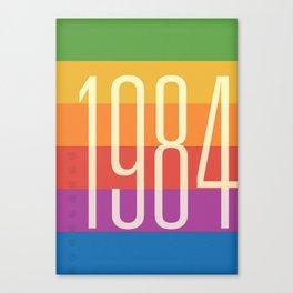 1984 (h) Canvas Print