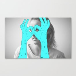 Peak-a-Boo Canvas Print