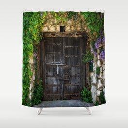Gates of Eze Shower Curtain