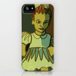 That girl was a nightmare... iPhone Case