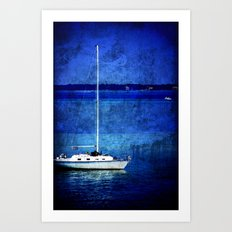 Dreaming of Sailing Away Art Print