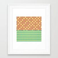 prism Framed Art Prints featuring prism by eddiek3