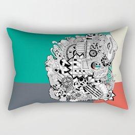 Orden inverso Rectangular Pillow
