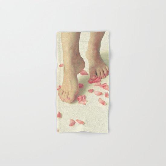Tiptoe Hand & Bath Towel