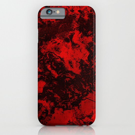 Galaxy in Red iPhone & iPod Case