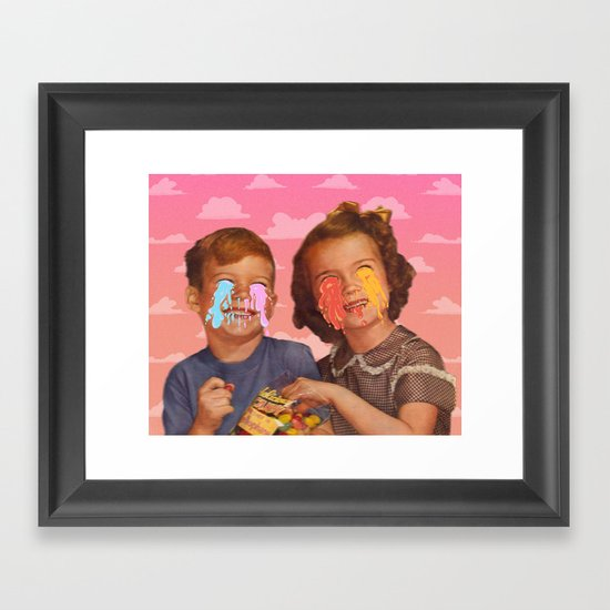 Delicious Candy Framed Art Print
