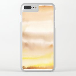 180815 Watercolor Rothko Inspired 2| Colorful Abstract | Modern Watercolor Art Clear iPhone Case