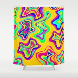 Blur Rainbow Shower Curtain