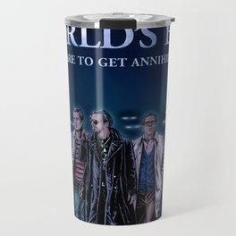 The World's End - Coloured Version Travel Mug