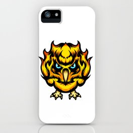 Fire Chick iPhone Case