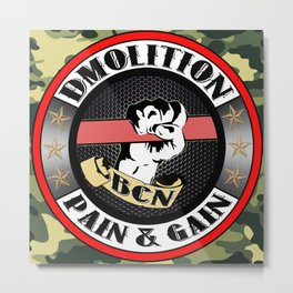 DMolition Barcelona Metal Print
