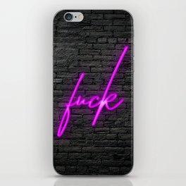 Neon Fuckery iPhone Skin