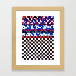 Squirm Squirmy  Framed Art Print
