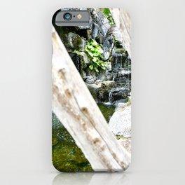 Small Hawaiian Waterfall iPhone Case