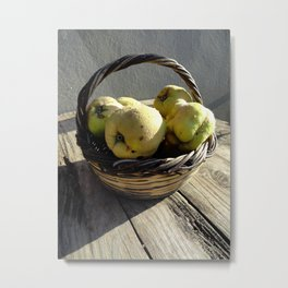 Golden Apples of the Sun Metal Print