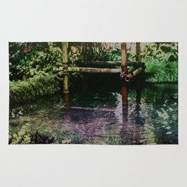 Tropical Pool Garden Rug