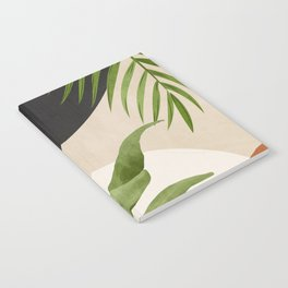 Abstract Art Tropical Leaf 11 Notebook