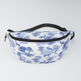 Classical French Toile Countryside Pattern Fanny Pack