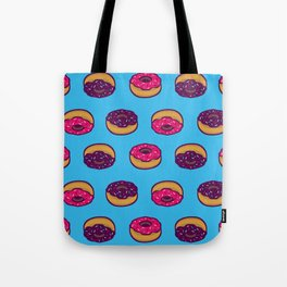 Donuts All Over Tote Bag
