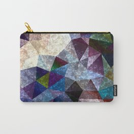 Marble polygonal pattern 2 Carry-All Pouch
