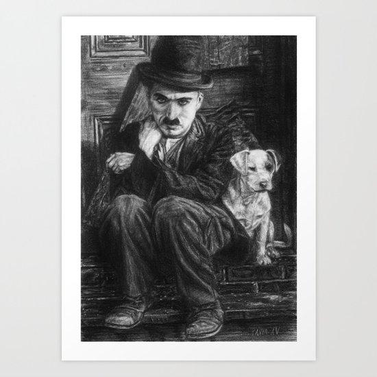 A dog's life Art Print