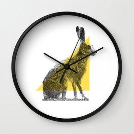 Stipple_04 Wall Clock