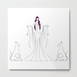 Hecate, The Light Bringer. Metal Print