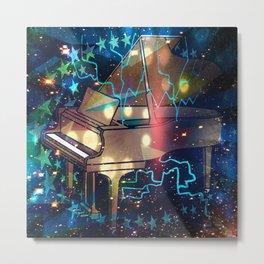 Baby Grand Space Metal Print