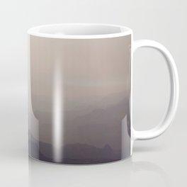 Smoky Hazy Sunset in the Grand Canyon Coffee Mug