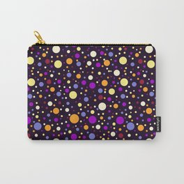 Happy night Bubbles Light pattern v.2 Carry-All Pouch