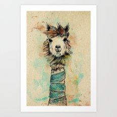Lama Art Print