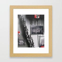 Erban Legends Framed Art Print