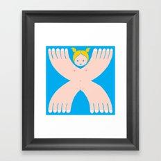 I´m a girl Framed Art Print