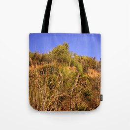 Hot summer landscape Tote Bag