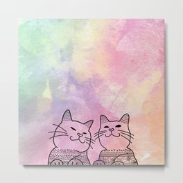 You're Purrfect Metal Print