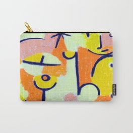 Paul Klee Figure in Yellow Carry-All Pouch