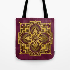 omjárah gold gallery mandala Tote Bag