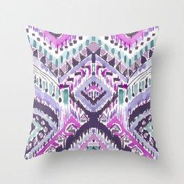 COMPUTER BECOMES YOU Tribal Throw Pillow