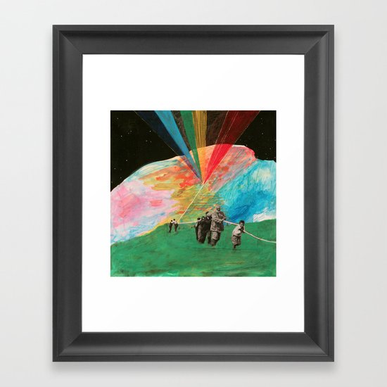 Universe Kite Framed Art Print