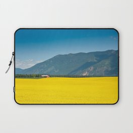 Canola farm Laptop Sleeve