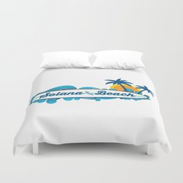Solana Beach. Duvet Cover