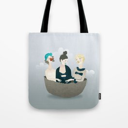 Over the ladies' nest  Tote Bag